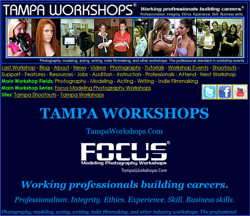 Tampa Workshops when it launched on October 17, 2011.